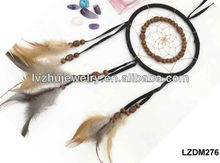 hanging feather dream catcher for wall decor LZDM276