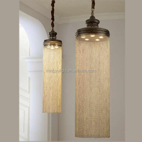 2015 Bright modern chandelier light with brass
