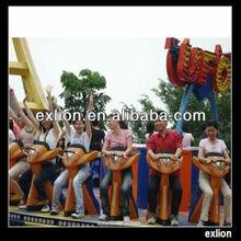 Adventure and interesting amusement park equipment flying ufo rides