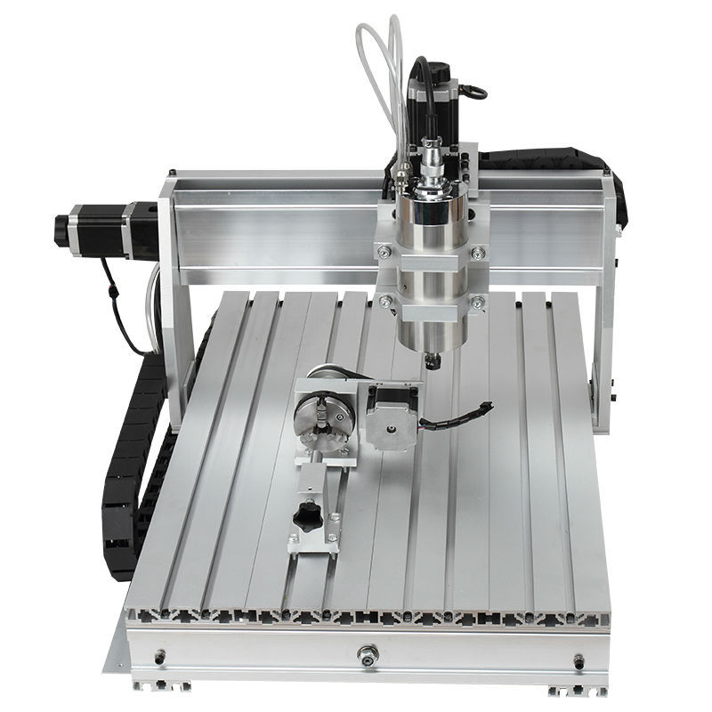 3D CNC Machine CNC 6040 CNC Router Machine with tool bits, collets. free tax to Russia