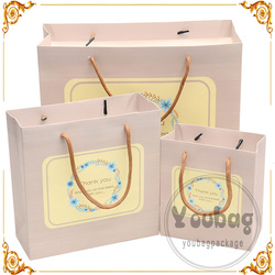 Recycled Competitive Price Custom printed cute paper bag made in China