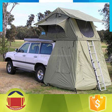 Outdoor Car Roof Top Tent With Awning