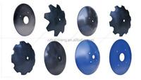 Disc Blades: Notched harrow disc