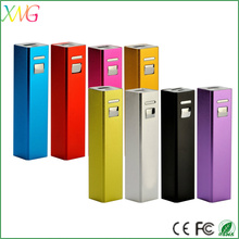 most selling products USB rechargable Real capacity 2600 mah powerful power bank