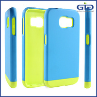 [NP-2529] Wholesale Price 3 in 1 Hybrid Detachable TPU PC Phone Case for Samsung S6 for iPhone 6 for Galaxy S5