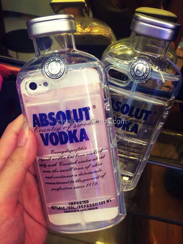 FOR IPHONE 5 5s VODKA BEER TPU CASE