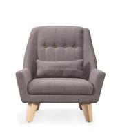 high fashion home furniture high grade linen fabric chair furniture for sale (NP2866)