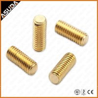 COPPER DIN913 SET SCREW with flat point