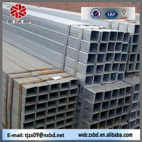 Q195 seamless carbon steel weld square tube