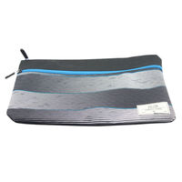 back to school pencil bag customized rubber logo polyester bag men tripper documents pouch,pad protect bag