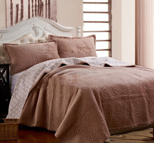 Luxury Quilting short fluffy woolly Korean style super soft short single twill cotton quilt