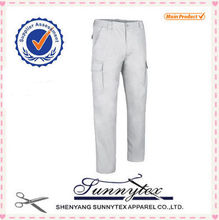 Sunnytex OEM 2015 pantalones de talla grande exterior para hombre cargo trabajo pintor pantalones