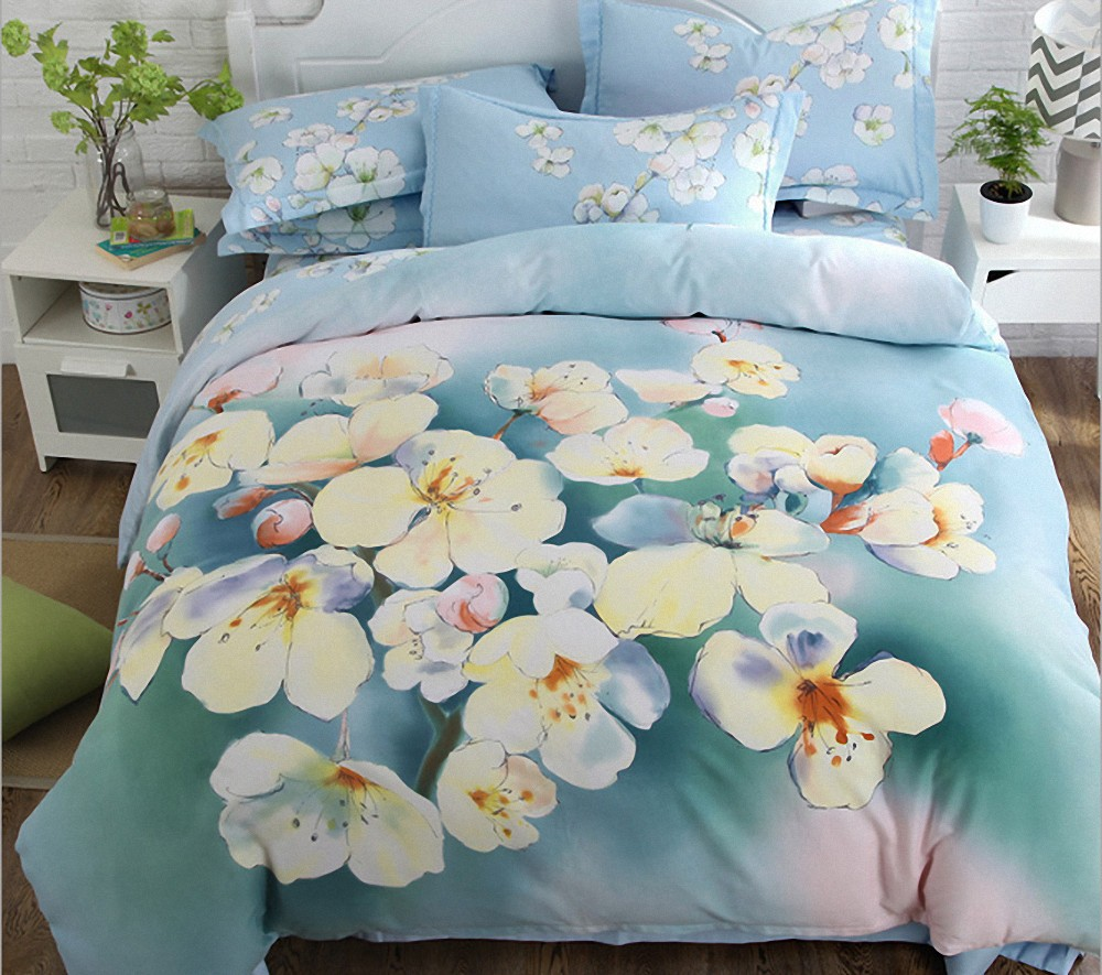 Brand new white hotel bedding set with high quality