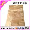 Yason ziplock mini bag sealable foil 3 gram zip lock bags with tear notch zipper ldpe reclosable bags