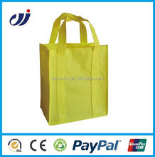 Travel top quality recyclable folded non woven bag