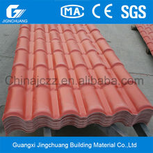 Promotional Hard burn pvc/plastic/synthetic resin Cladding tiles