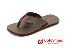 2015 High-end men leather arabic sandals