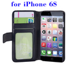 In Stock Flip Leather case cover for iPhone 6S card slot