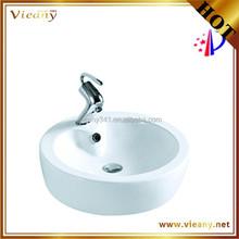 Bathroom Ceramic Counter top lavatory furniture washing basin