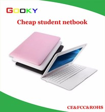Pink black white 10 inch Android Dual core Mini PC Notebook Computer Kids Chldren