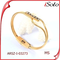 bangkok fashion jewelry innovative products for import stainless steel expandable bangle