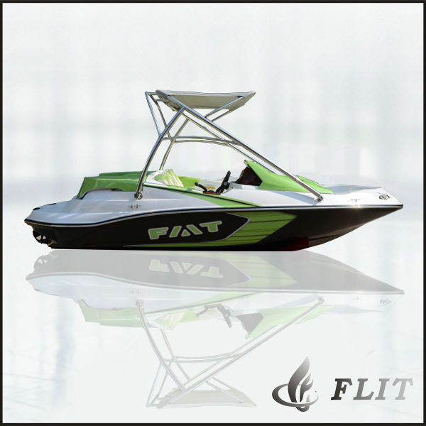 China 4 seats hot sale small fiberglass jet boat seadoo for Small motor boat for sale