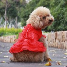Fashion wholesale Dog wedding dress