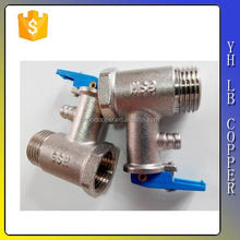 Brass Safety and Non-Return Relief Valve with Male Thread