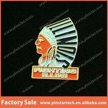 Assorted Hot Sale Wholesale Illinois Fighting Illini Vintage Pin