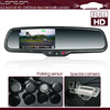 Full HD DVR rearview mirror 1080P with G-Sensor , parking mode and anti glare glass