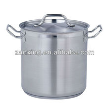 Stainless steel cookware- deep stock cooking pot