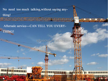 TC4810 Overseas Service Available Self Erecting 120m Max Height 42m Jib Length Building Topkit Tower Crane