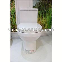 S/P-Trap 3L/6L China Manufacturer One-Piece Celite Toilet Parts