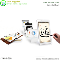 ce certified handwriting 7inch screen quad-core cpu android os tablet pc c7 integrate