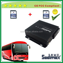 4ch mobile dvr with 3g gps wifi, supports google /baidu map