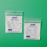Pharmaceutical self seal Medicine pouch