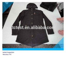 Stylistic garment inspection service pre-shipment inspection final random inspection