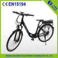Shuangye cheap city bicicleta for male and female with aluminum alloy frame