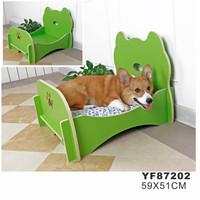 Low Price Wholesale Elegant Design Classic Wood Dog Bed Material