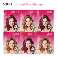 Hair coloring products black hair dye shampoo