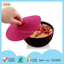 Hot Sell FDA Silicone Food Sealing Cover & Microwave Heating Cover