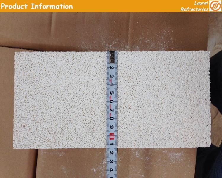 Isolation thermique thermique brique d'argile réfractaire