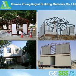 Cost Saving Energy Saving Light Weight Fireproof Precast Concrete Wall Composite House Siding