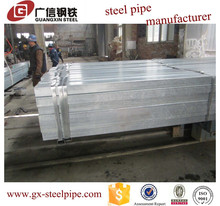 tubo galvanizado iron steel for construction