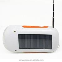 Solar FM Radio+Solar Flashlight Solar Torch solar charger