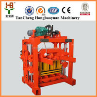 most profitable products QTJ4-35 electric brick making machine/building block molding machine selling in china