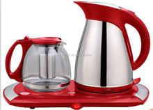 2012 Home appliance electric kettle tea pot/tea set
