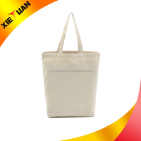 100% Natural Cotton Eco-friendly Reusable Durable Grocery Shopping Travel School woman handbag gift Bag Tote