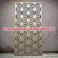 2015 custom design laser cut decorative screens