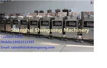 Mcdonald's Continuous Hamburger frying machine Shanghai factory